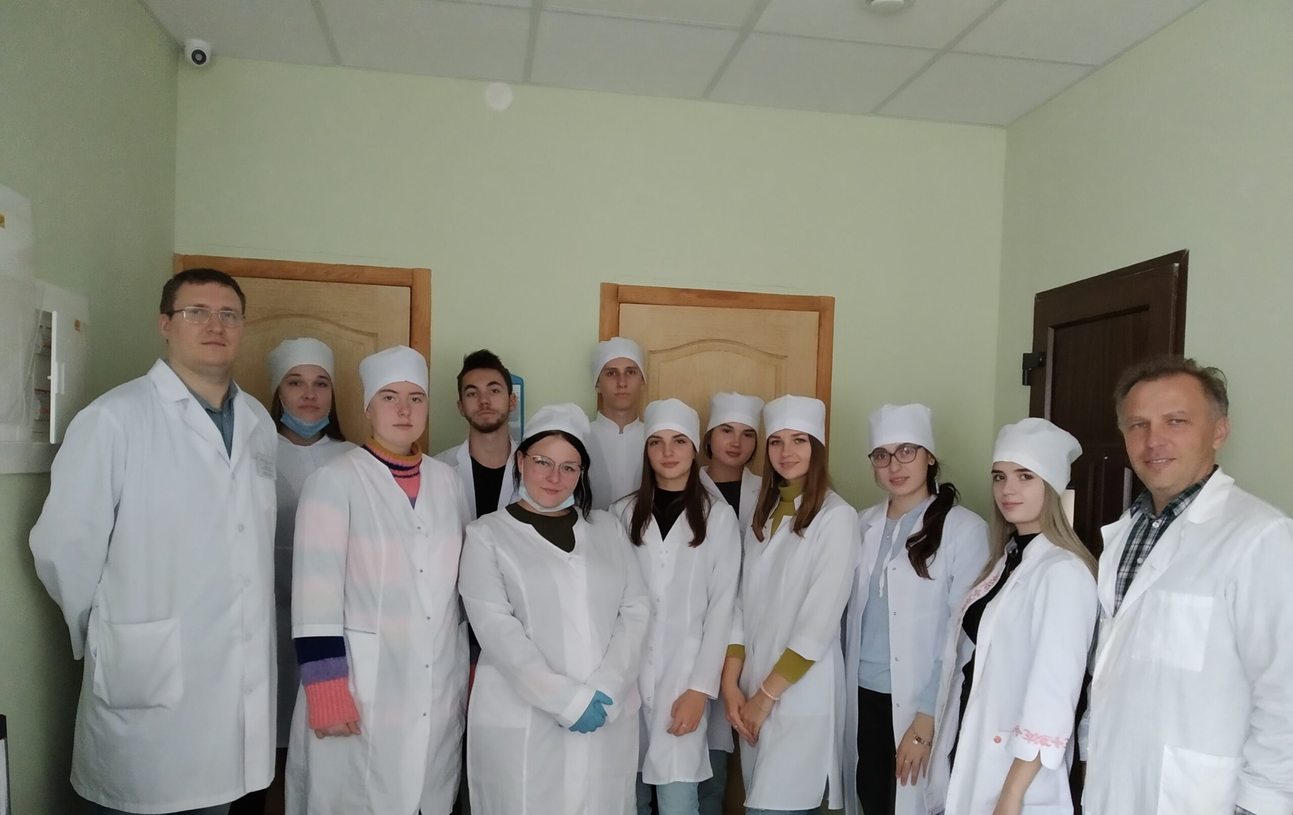 Excursion to the veterinary laboratory